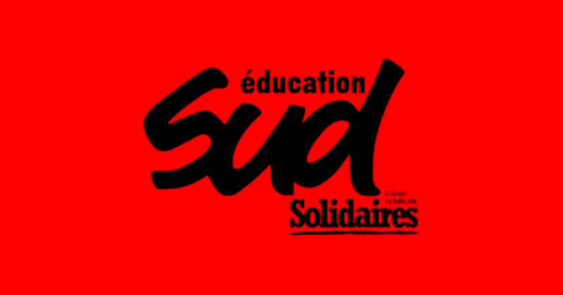 Le tract SUD éducation Loiret de décembre : Blanquer démission / Stop loi sécurité globale